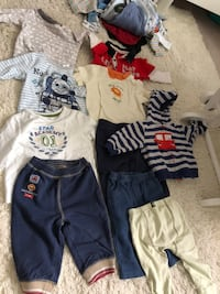 toddler's assorted clothes Calgary, T3K 0M2
