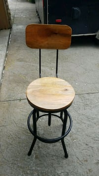 Bar stools adjustable with back and without Toronto, M6M 2X8