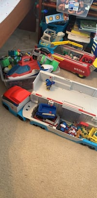 Paw patrol collection lot