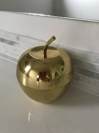 Moving Sale! Gold Apple Jewlery Container Austin, 78704
