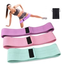 3 Exercise Resistance Band , NEW