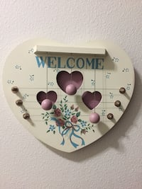 Wooden musical welcome board for wall new. Jacksonville, 32256
