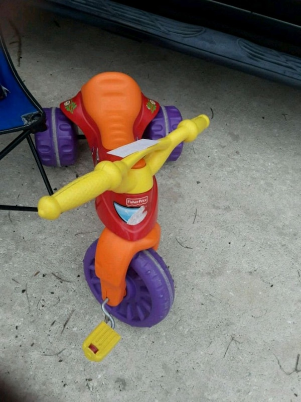 2566af4545a Used toddler's orange and purple trike for sale in Kissimmee - letgo