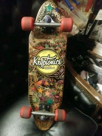 KRYPTONICS VINTAGE SKATEBOARD