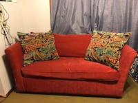 Red Sleeper Couch