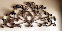 Metal wall candle holder/ wall decor  Los Angeles, 91436