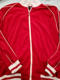 Red Velour Jacket