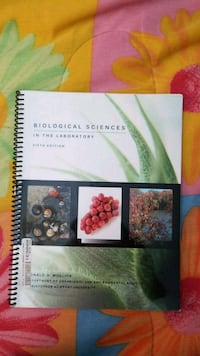 Biological Sciences Lab Textbook Chantilly, 20152