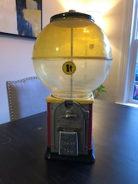 Vintage Bubblegum Machine