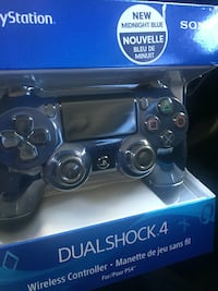 Midnight blue ps4 controller brand new Surrey, V3T 4G1