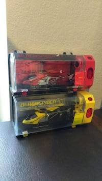 Black spider xt remote control helicopters Modesto, 95354