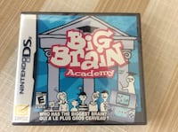 BRAND NEW NEVER OPEN BIG BRAIN ACADEMY NINTENDO DS  Montréal, H9K 1S7