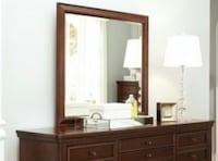 brown wooden sideboard with mirror Long Beach, 90808