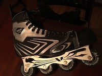 Brand new men's inline skates size  12 perfect condition