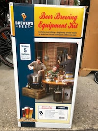 BEER BREWING KIT  brand new never used before  Plainview, 11803