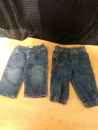 Baby Boy Jeans Set of 2 Size 9 Months