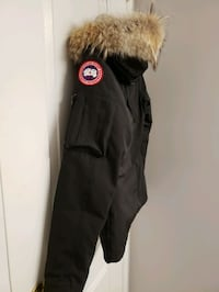 black and white fur-lined parka 579 km