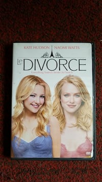 Le Divorce DVD