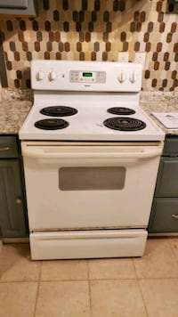 Used Electric Stove and Refrigerator