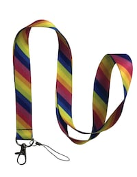 50 pieces of rainbow PRIDE lanyards keychains party Montréal, H3A 2A4