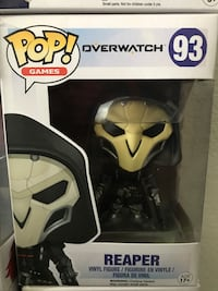 POP! Games Overwatch 93 Reaper vinyl figure pack