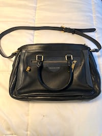 Purse Marc Jacob navy leather $80 & Kate Spade$60  grey patent leather Edmonton, T6H 5N8