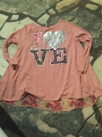 Peach colored shirt size xl Bristol, 24201