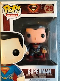 Man of Steel Superman Funko Pop