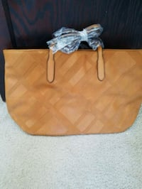 Brown leather tote bag Baldwinsville, 13027