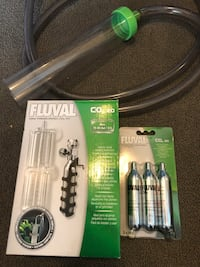 Fluval CO2 fish tank kit  Vancouver, V6Z 3G6