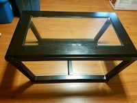 Dark Brown/Black Coffee Table