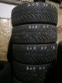 205/55R16 Goodyear Ultra Grip Ice Winter Set of 4