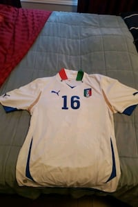 Authentic De Rossi Italy World Cup jersey Vaughan, L6A 4C2