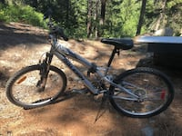 black and white hardtail mountain bike Central Okanagan, V4T 1A5