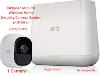 Arlo Pro Wireless Home Security Camera System with Glenarden, 20706