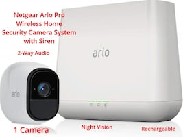 Arlo Pro Wireless Home Security Camera System with Siren