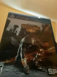 Infamous Second Son PS4 GAME South Bend, 46619