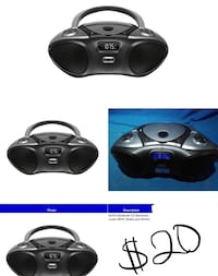 AVGO Bluetooth cd boom box