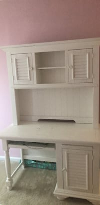 white desk with hutch  Springfield, 22153
