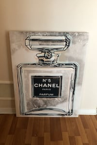 Chanel printing on canvas 30x40 Mississauga, L5M 0P3