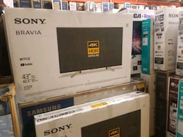 "TV 43"" NEW 4K SMART BRAVIA SONY"