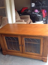 brown wooden cabinet with drawer Kelowna