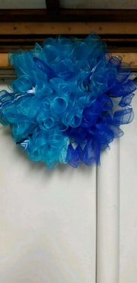 15 Inch Blue Holiday Wreath Maryland, 20746