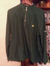 Masters pullover wind jacket sz L Augusta, 30909