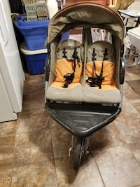 Expedition double jogger stroller