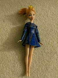 Anna Frozen Doll With Dress