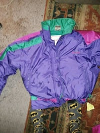 purple and green zip-up jacket Sun Valley, 89433
