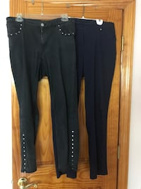 Two pant one jean size 8  one Navy pant size 8 Deer Park, 11729
