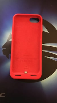 iPhone 7 Smar Battery Case product Red mit Rechnung