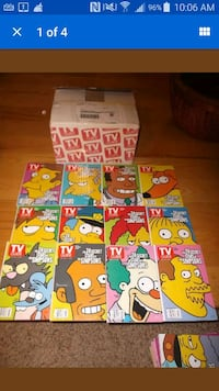 2000 edition. . Complete 24 Simpsons Variations  Somerset, 02726